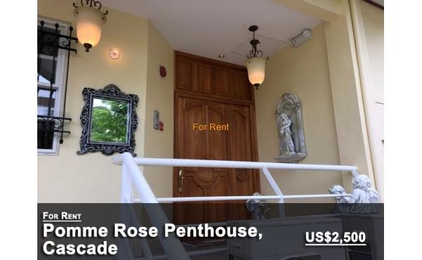 Pomme Rose Penthouse, Cascade