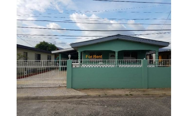 Trincity: Cazabon Ave