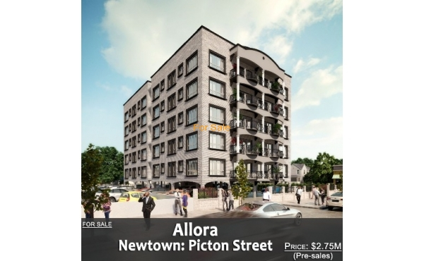 SOLD OUT - Allora Apartments, Newtown