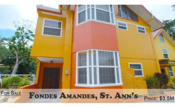 Fondes Amandes Villas, St. Ann's